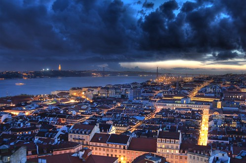 The view from St George's Castle, Lisbon