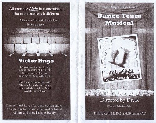 CMHS Dance musical Fri, Ap 12, 6:30 pm by trudeau