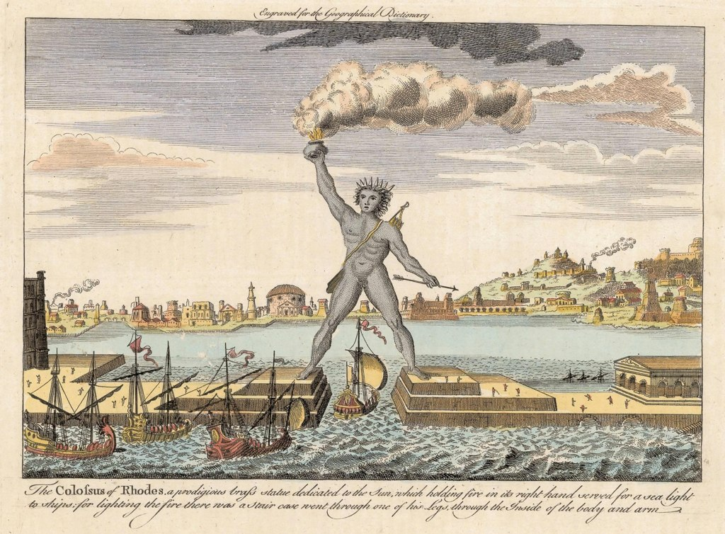 Colossus of Rhodes, Undated