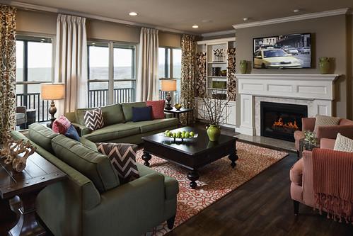 Del Mar at Triple Crown, Nicholas Model, Living Room