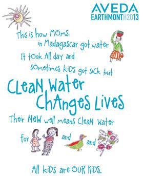Aveda Clean Water