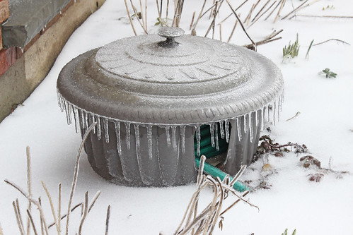 Ice Storm: Hose Drips