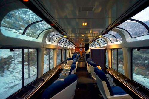 California Zephyr observation lounge car