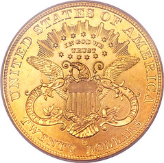 1906-D double eagle special strike reverse