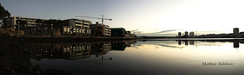 new morning water wales sunrise buildings river bay apartments crane 5 sony south sydney australia nsw western alpha ways homebush nex