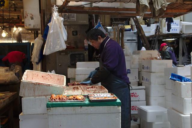 0232 - Tsukiji el Mercado de Pescado