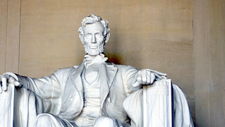 Lincoln Memorial: closeup