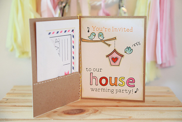 Housewarming Invitation