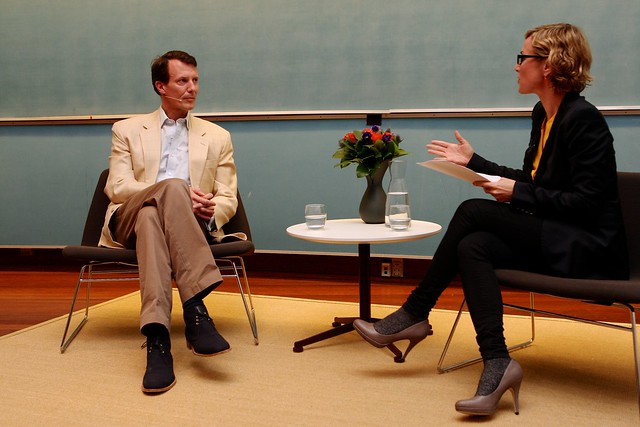 Meeting with HRH Prince Joachim