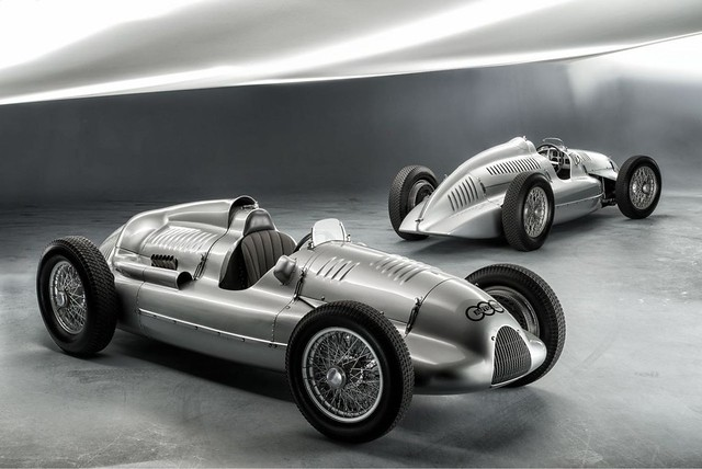 1939 Auto Union Type D Recovered By Audi