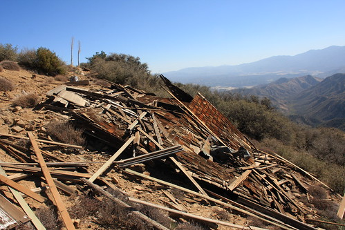 Cuyama Peak Lookout/AWS Cabin Remains No. 6