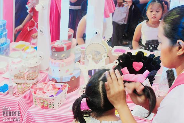 Hair Salon Booth