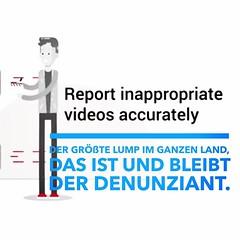 Google macht Helden - Anschwärzen - Löschen Sperren - Schleimpunkte sammeln #YouTubeHeroes