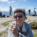 Lise eats crisps on the summit of Ben Lomond by dogtooth77