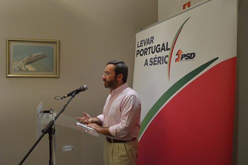 Jorge Moreira da Silva em Faro