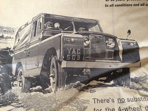 Gorgeous Land Rover illustration