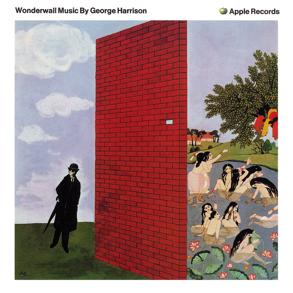 Wonderwall Music Lp Cover Art