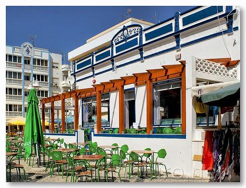 Café em Monte Gordo by VRfoto