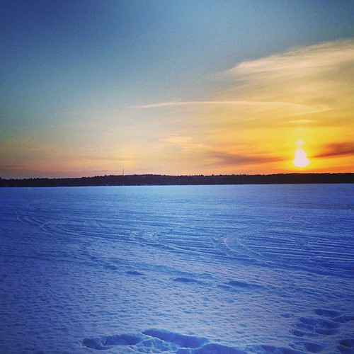 sunset sun snow clouds square squareformat mayfair frozenlake iphoneography instagramapp