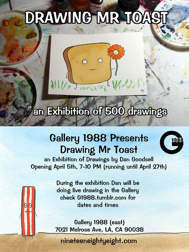 Drawing Mr Toast