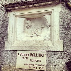 Rodin's memorial to the poet Rollinat at Fresselines