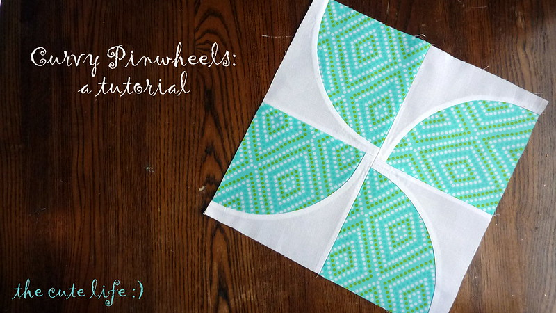 Curvy Pinwheel tutorial