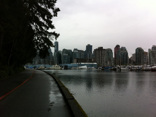 Vancouver on a grey Sunday afternoon
