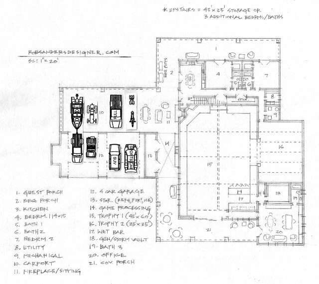 Hunting Lodge Floor Plan Flickr Photo Sharing