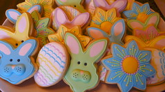 art, food, icing, easter,
