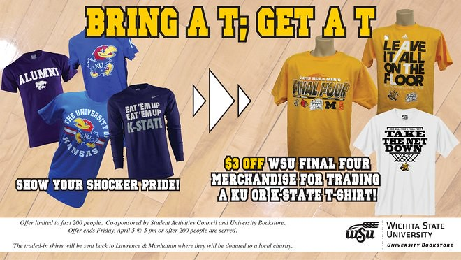 Wichita State University Bookstore - March Madness - MBS Foreword Online