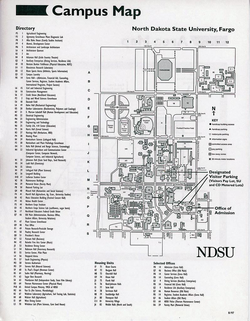 Ndsu Campus Map Pdf.Lsu Campus Map Gis Tax Map