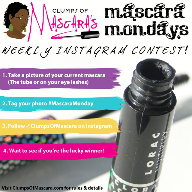 Mascara Monday Weekly Instagram Contest