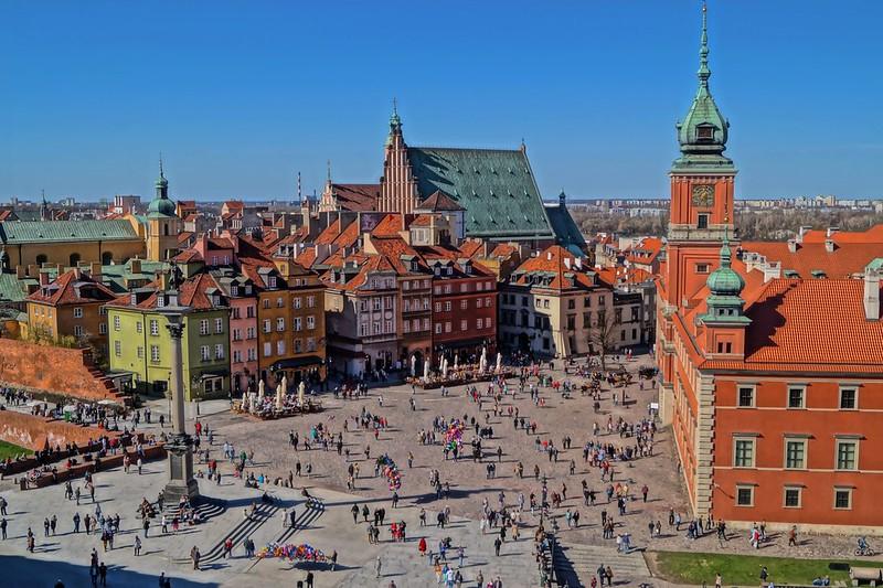 Plac zamkowy / Warsaw
