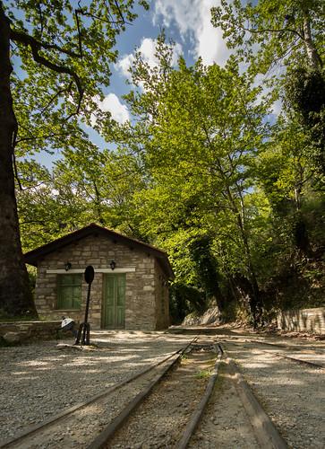 Μηλιές Πηλίου, ο σταθμός... by Dimitris Amountzas