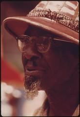 "Price Allen, The ""Peanut Man"", A Sidewalk Vendor On Chicago's South Side, 07/1973"