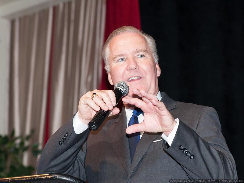 Bob Buckhorn, the mayor of Tampa