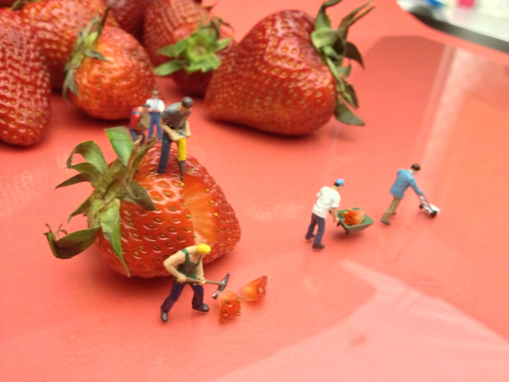 Berry Hard Work Setup (7/11)