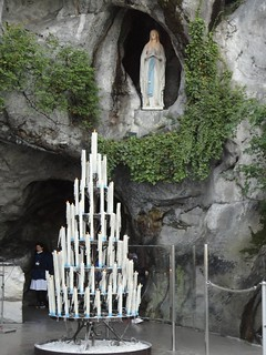 La famosa gruta.