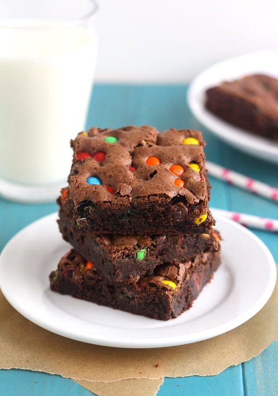 Almond Flour M&M Brownies