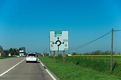 Panneau indiquant des directions