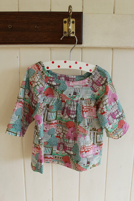 Hello Kitty/Liberty blouse