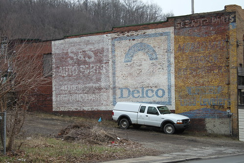 Ghost Auto Parts Signs