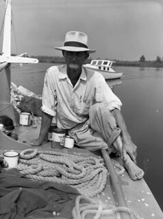 "Seine net fishermen Elisha ""Pappy"" Turner: Naples, Florida"