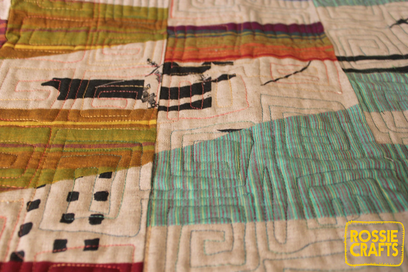The Arne Quilt up close