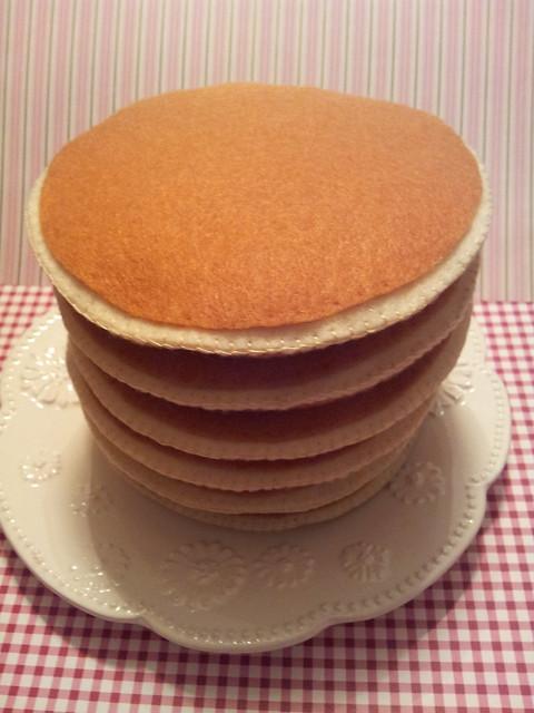 Felt Pancake Pile