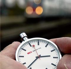 Atributem Švýcarských železnic je přesnost
