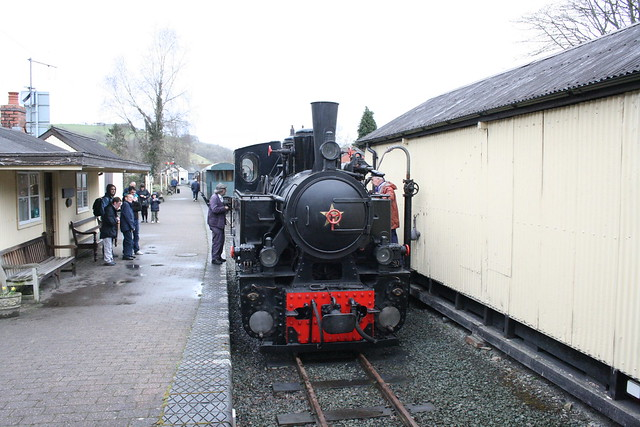 Resita No 19 at Llanfair