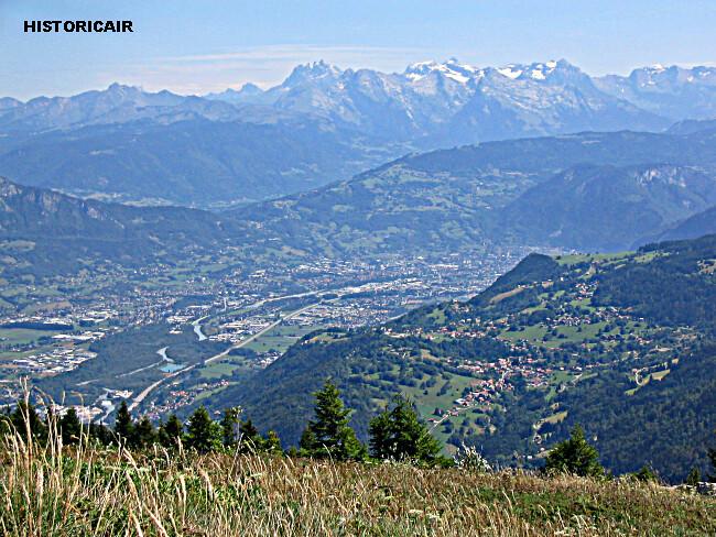 fonte des neiges sur les cimes des Alpes savoyardes par la chaleur du 1er mai 2005 météopassion