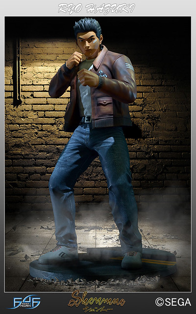 First 4 Figures Open Pre-orders on Shenmue Ryo Hazuki Statues; Exclusive Variant Available