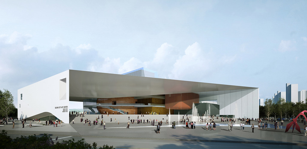 Sejong Art Center (2nd Prize) design by Tomoon Architects & Engineers + Ison Architects